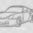 Free 3D model Porsche keychain, Motek3D