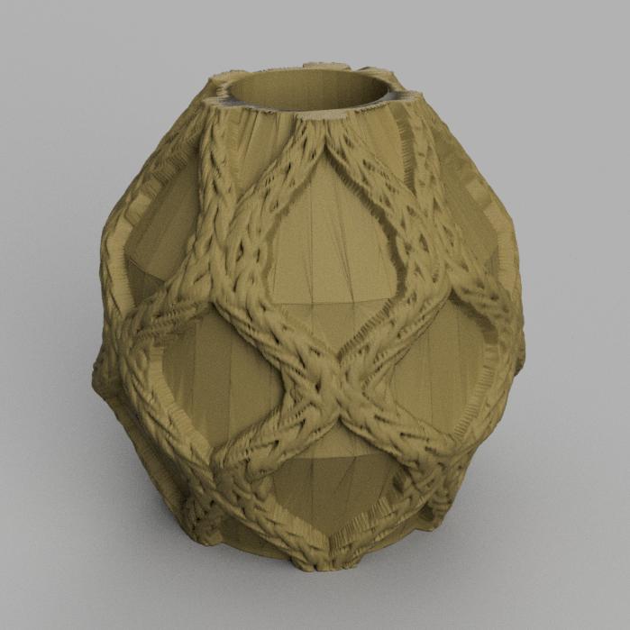 8 rendu 2 .png Télécharger fichier STL X86 Mini vase collection  • Objet imprimable en 3D, motek