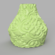 Download free 3D printer model Vase with an antique motif, Motek3D