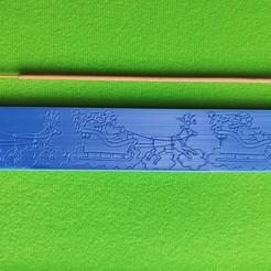 Download 3D printing designs christmas incense holder / porte-ences, Motek3D