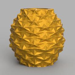 3 vase rendu 1.png Télécharger fichier STL vase etoile  • Modèle pour imprimante 3D, Motek3D