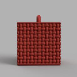 10101010 rendu .png Download STL file Garland cube • Model to 3D print, motek