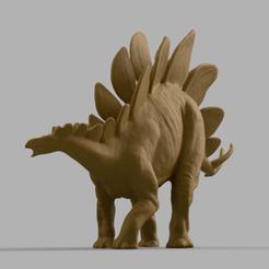 dinosaure a ecaille dos 4.png Télécharger fichier STL dinosaure a écaille dos • Design à imprimer en 3D, Motek3D