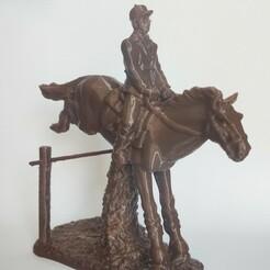 IMG_20210115_142041.jpg Download STL file Horse Riding Hedge Horse • Model to 3D print, motek