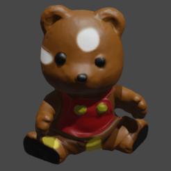 ourspres 3 paint .png Download free STL file Bear • 3D printable object, Motek3D