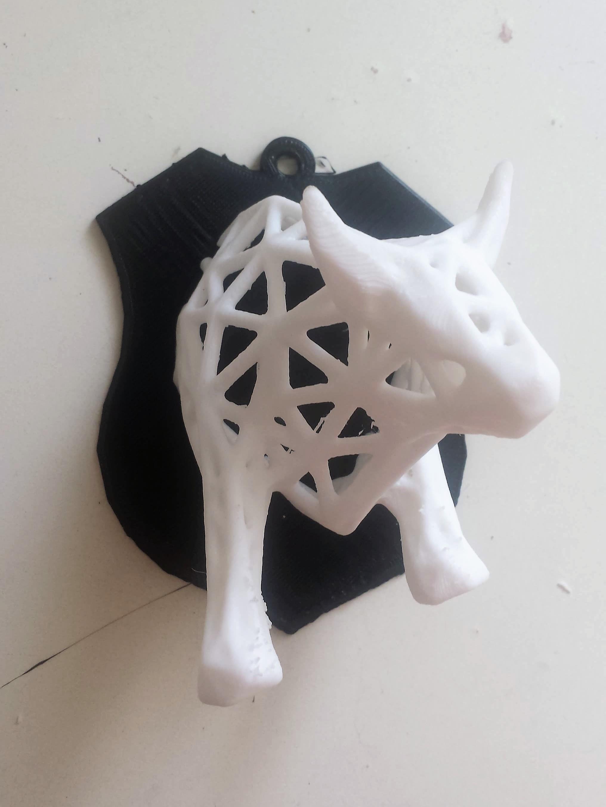 toro1 .jpg Download STL file Voronoi Bull • Object to 3D print, motek