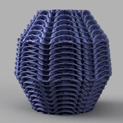 13 rendu 3 .png Télécharger fichier STL vase courbe  • Objet à imprimer en 3D, Motek3D