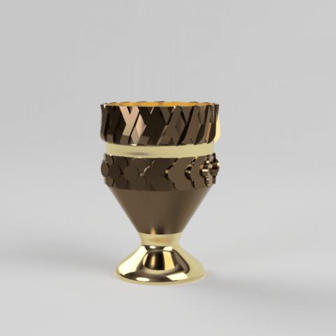 coupe6.png Télécharger fichier STL gratuit coupe d'or  • Plan pour impression 3D, motek