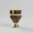 coupe6.png Download free STL file golden cup • 3D printable template, motek