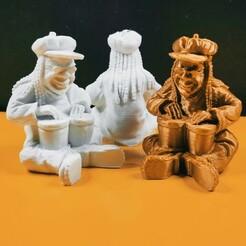 IMG_20210109_180527.jpg Download STL file Bob Marley the little Rasta boys • 3D print model, motek