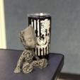 Télécharger fichier impression 3D gratuit Groot voronoi, Motek3D