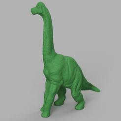 dinosaure au long coup 2 rendu 1 .png Télécharger fichier STL dinosaure au  long coup 2  • Plan pour imprimante 3D, Motek3D