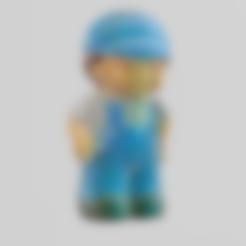bonhomme  .stl Download free STL file mechanic • Model to 3D print, Motek3D