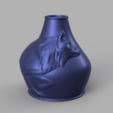 vase loup 21.png Télécharger fichier STL X86 Mini vase collection  • Objet imprimable en 3D, motek