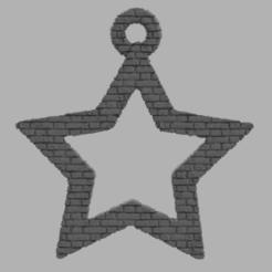 34.png Télécharger fichier STL gratuit Etoile creuse  • Plan pour imprimante 3D, motek