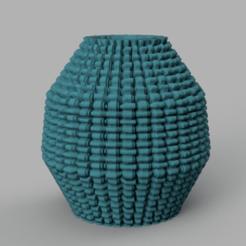 14 rendu 3 .png Télécharger fichier STL gratuit vase 14 • Design pour impression 3D, Motek3D