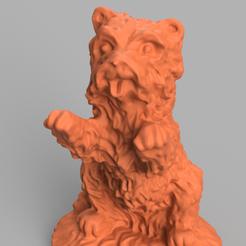 chien debout rendu 7.png Télécharger fichier STL chien debout  • Plan imprimable en 3D, Motek3D