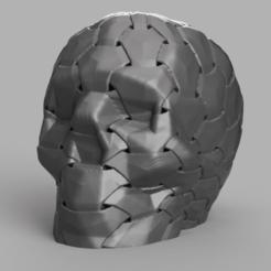 skull hexa rendu 2 .png Download STL file Skull hexa X2 • 3D printing design, Motek3D