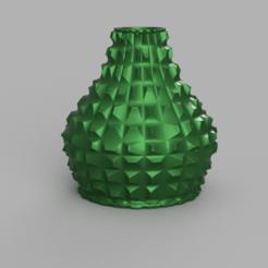 Télécharger plan imprimante 3D gatuit Vase pic plat, Motek3D