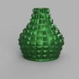 Download free STL Flat peak vase, Motek3D