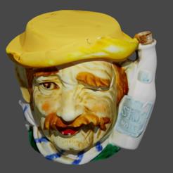 homme en sky .png Descargar archivo STL la textura del whisky para hombres • Modelo imprimible en 3D, Motek3D