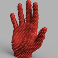 Descargar diseños 3D Mano escamosa, Motek3D