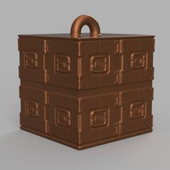 22 rendu 1 .png Download STL file Garland cube • Model to 3D print, motek