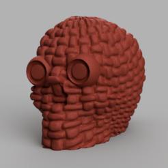 1 rendu 1.png Download free STL file skull rope X2 • 3D print object, motek