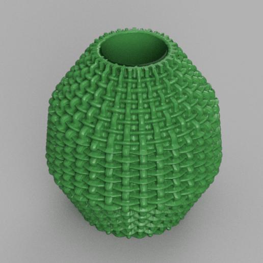 16 rendu 1 .png Télécharger fichier STL X86 Mini vase collection  • Objet imprimable en 3D, motek