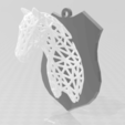 Download 3D printer designs Voronoi horse, Motek3D