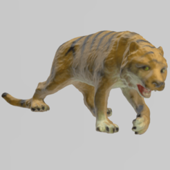 tigre 2 pres 1.png Download STL file Tiger • 3D printing design, motek