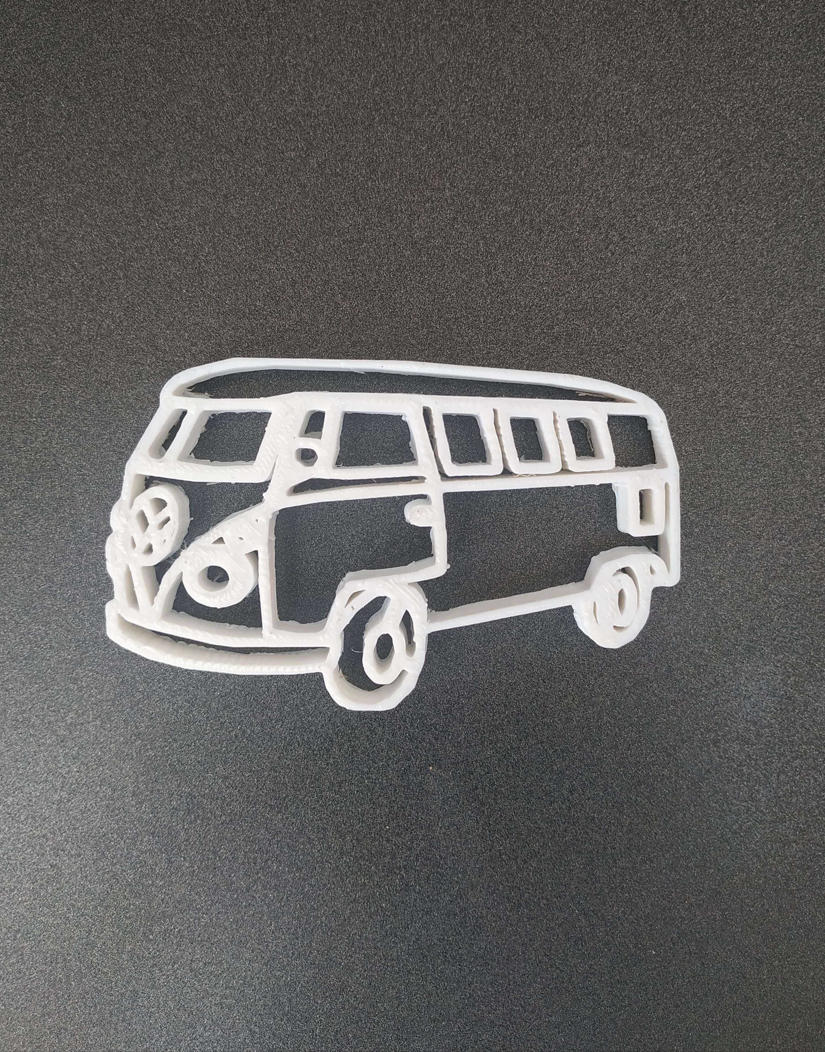 52396207_241756446728941_9011912938398679040_n.jpg Download STL file Van wolkswagen keychain • 3D printer template, motek