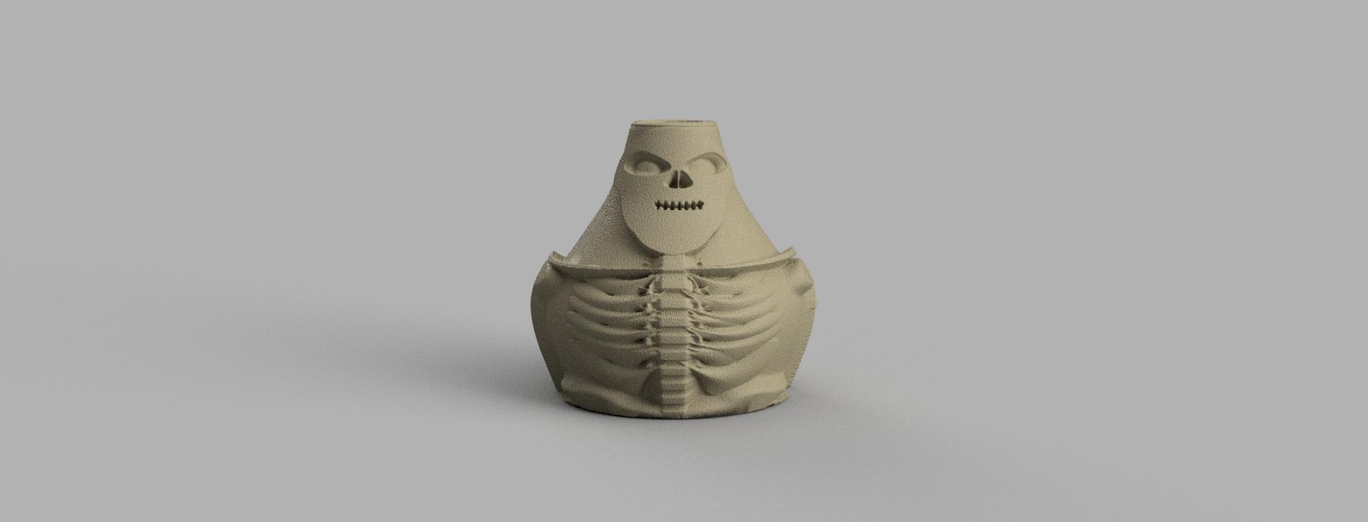 vase squelette .png Télécharger fichier STL X86 Mini vase collection  • Objet imprimable en 3D, motek