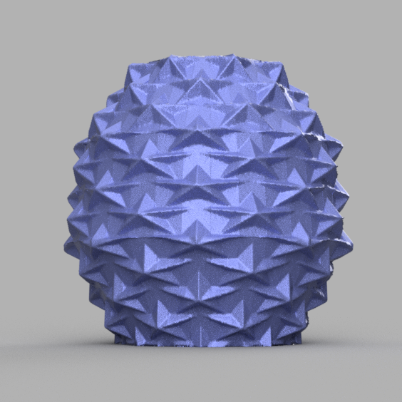 3 vase rendu 1 .png Télécharger fichier STL X86 Mini vase collection  • Objet imprimable en 3D, motek