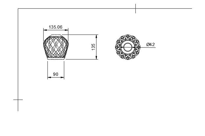 Sans titre.png Download STL file Lamp shade • 3D printable model, motek