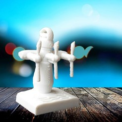 Free 3D print files draught of beer keychain, Motek3D