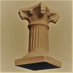 colonne rendu 22.png Download STL file column • Template to 3D print, Motek3D