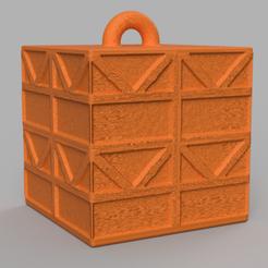 8 rendu 1 .png Download STL file Garland cube • Model to 3D print, motek
