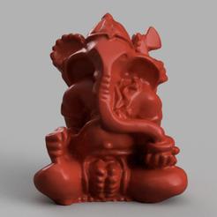 ganesh rendu 4.png Download STL file Ganesh • 3D printable object, Motek3D