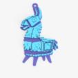 lama render 3 .png Download free STL file Ornamental lama • Model to 3D print, Motek3D