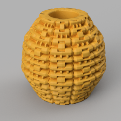 26 rendu 3 .png Télécharger fichier STL Vase 26 • Design à imprimer en 3D, Motek3D