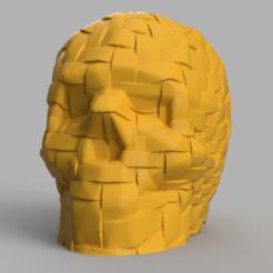 skull sull band rendu 1 .png Download STL file Skull band X2 • 3D print template, Motek3D