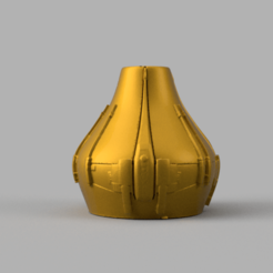 Vase xwing .png Download STL file Vase Xwing effect star wars • 3D print model, Motek3D