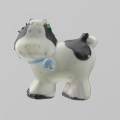 vache pres 1.png Download free STL file Cow • 3D printing object, Motek3D