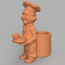 cuisto rendu 2 .png Download STL file cook • 3D printable design, motek