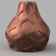 vase noeud corde 1 .png Télécharger fichier STL Vase corde noeud • Design à imprimer en 3D, Motek3D