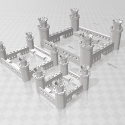 Download 3D printer model Castle, Motek3D
