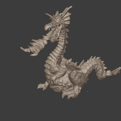 DRAGON PRES 3.png Download STL file Dragon • 3D printable model, Motek3D