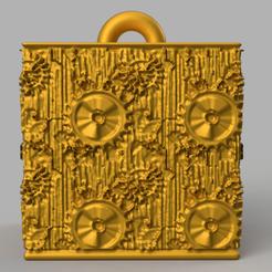 6 rendu 1 .png Download STL file Garland cube • Model to 3D print, motek