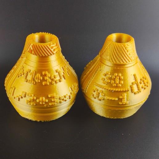 IMG_20200718_224016.jpg Télécharger fichier STL X86 Mini vase collection  • Objet imprimable en 3D, motek